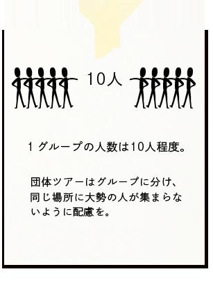 1グループ10人