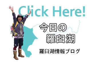 今日の羅臼湖情報ブログ